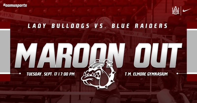 Alabama A&M Volleyball Will Host Middle Tennessee in Home Opener